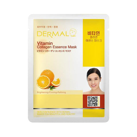 DERMAL / Collagen Essence Mask - 1pcs