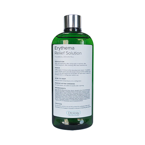 DTOLOGY  Erythema Relief Solution - 200ml