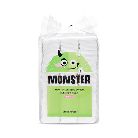 ETUDE HOUSE  Monster Cleansing Cotton - 1pack (408pcs)