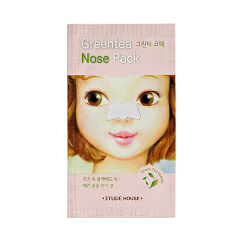 ETUDE HOUSE  Green Tea Nose Pack - 1pcs