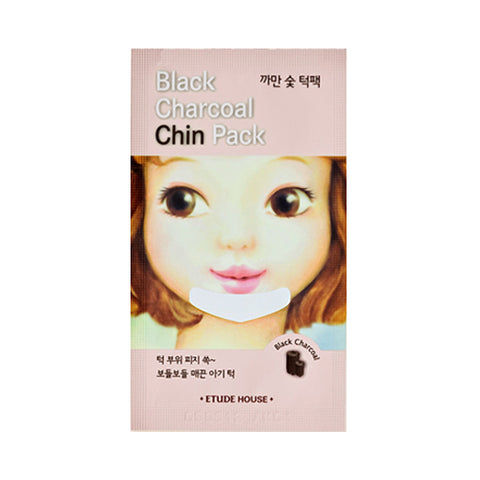 ETUDE HOUSE  Black Charcoal Chin Pack - 1pcs
