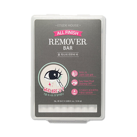 ETUDE HOUSE  All Finish Remover Bar - 1Pack (20ea)
