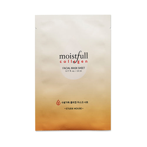 ETUDE HOUSE  Moistfull Collagen Facial Mask Sheet - 1pcs