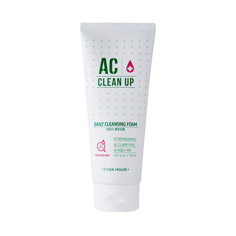 ETUDE HOUSE  AC Clean Up Daily Cleansing Foam - 150ml