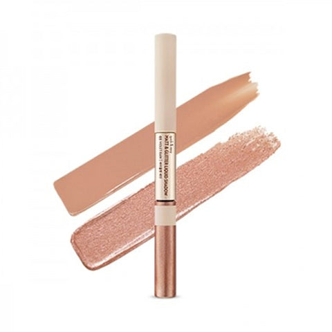 ETUDE HOUSE / Quick & Easy Matt & Glitter Liquid Shadow - 5g