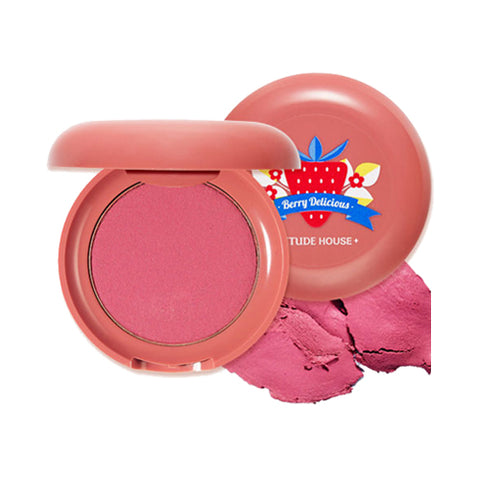 ETUDE HOUSE / Berry Delicious Cream Blusher - 6g