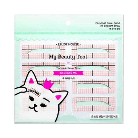 ETUDE HOUSE / My Beauty Tool Personal Brow Band - 1pack (2pcs)