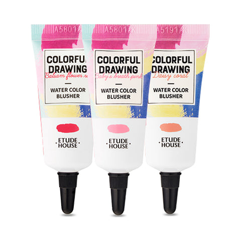 ETUDE HOUSE  Colorful Drawing Water Color Blusher - 10g