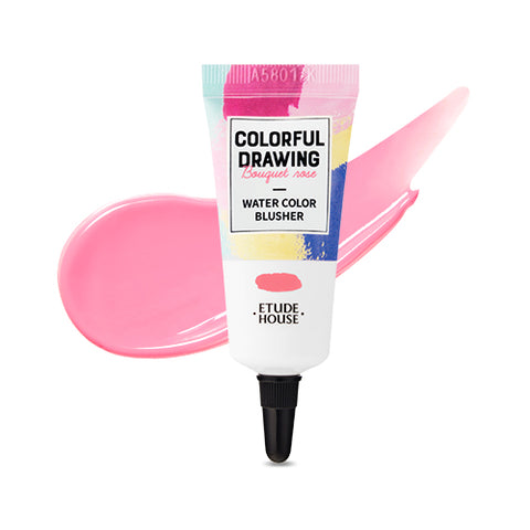 ETUDE HOUSE / Colorful Drawing Water Color Blusher - 10g