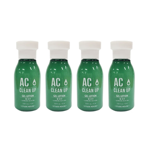 ETUDE HOUSE_Sample  AC Clean Up Gel Lotion Samples - 15ml x 4ea