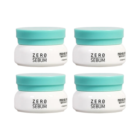 ETUDE HOUSE_Sample  Zero Sebum Fresh Gel Cream Samples - 10ml x 4ea