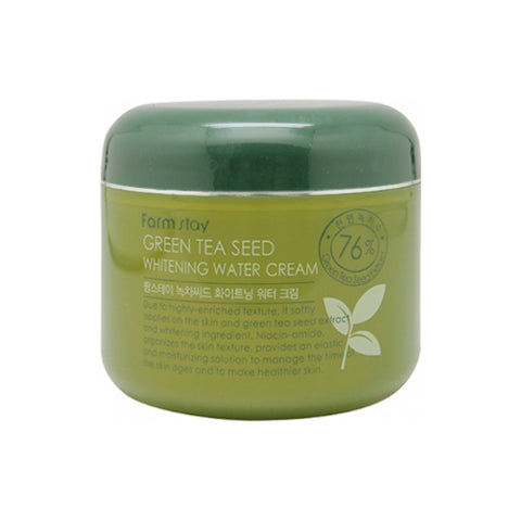 FARM STAY  Green Tea Seed Whitening Water Cream - 100g