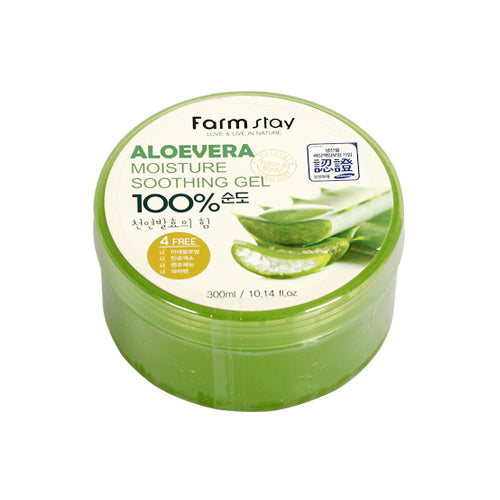 FARM STAY  Aloevera Moisture Soothing Gel - 300ml