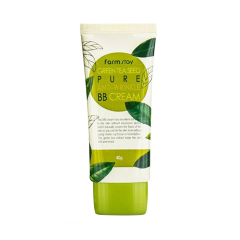 FARM STAY  Green Tea Seed Pure Anti Wrinkle BB Cream - 40g