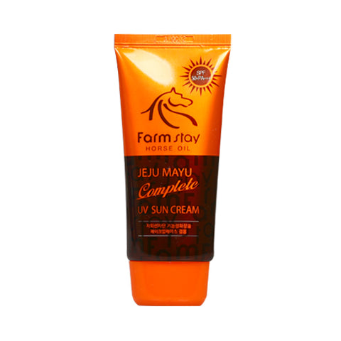 FARM STAY  Jeju Mayu Complete UV Sun Cream - 70g (SPF50+ PA+++)