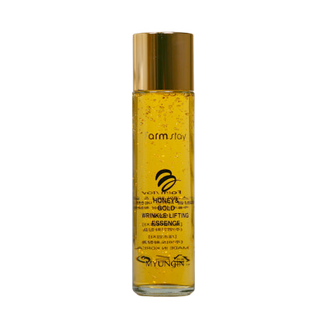 FARM STAY  Honey & Gold Wrinkle Lifting Essence - 150ml