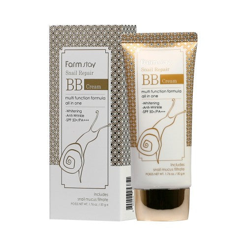 FARM STAY  Snail Repair BB Cream - 50g (SPF50+ PA+++)
