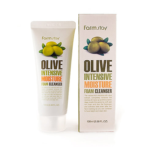 FARM STAY  Olive Intensive Moisture Foam Cleanser - 100ml