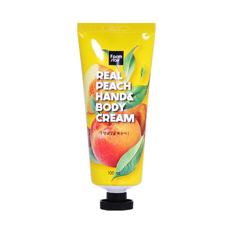 FARM STAY  Real Peach Hand & Body Cream - 100ml