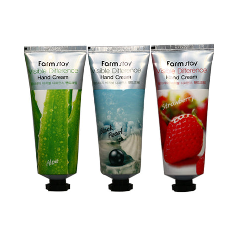 FARM STAY  Visible Difference Hand Cream - 100g
