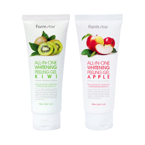 FARM STAY  All In One Whitening Peeling Gel - 180ml