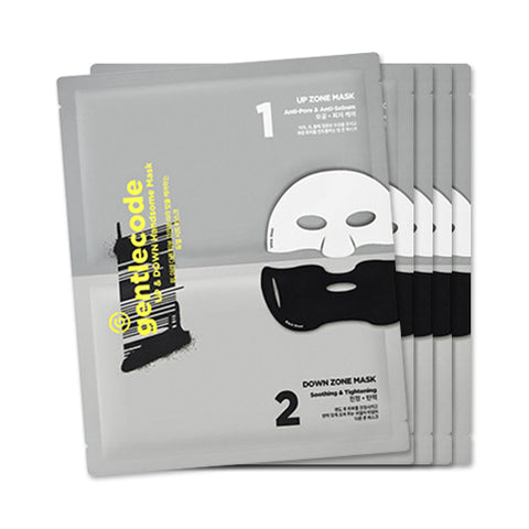 Gentlecode  Up & Down Handsome Mask - 1pack (5pcs)