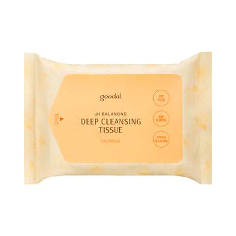 GOODAL  Calendula pH Deep Cleansing Tissue - 1pack (20pcs)