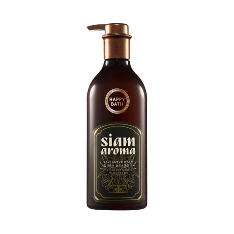 HAPPY BATH  Siam Aroma Salt Scrub Wash - 650ml