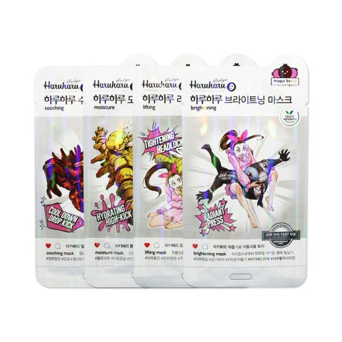 HARUHARU  Prologue Maqui Berry Mask - 1pack (10pcs)