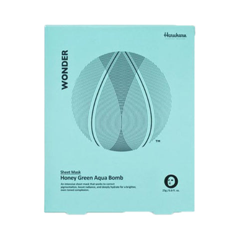 HARUHARU / Wonder Honey Green Mask - 1pack (5pcs)