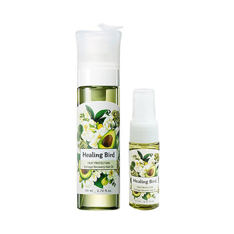 Healing Bird  Damage Recovery Hair Oil - 1pack (80ml+17ml) No.Heat Protection