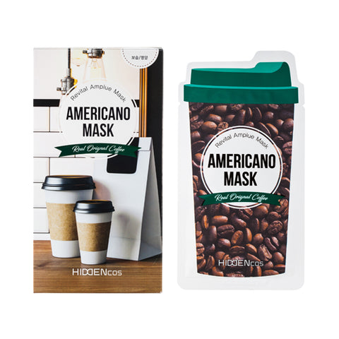 HIDDENcos  Americano Mask - 1pcs