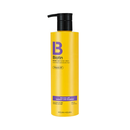 Holika Holika  Biotin Damage Care Shampoo - 400ml