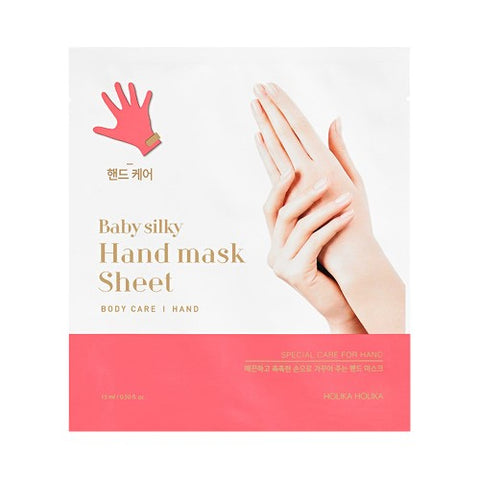 Holika Holika  Baby Silky Hand Mask Sheet - 1pcs