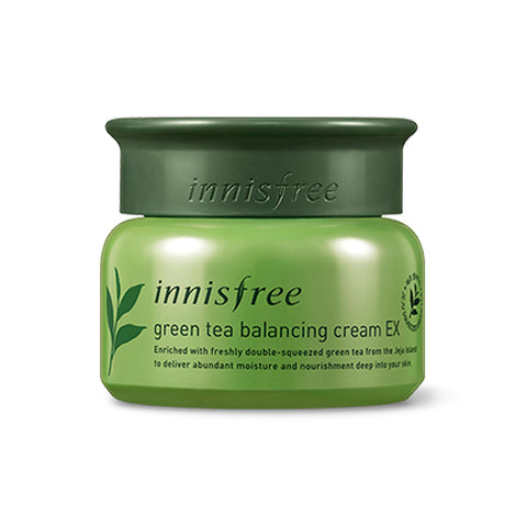 INNISFREE  Green Tea Balancing Cream EX - 50ml