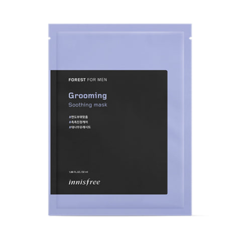 INNISFREE  Forest For Men Grooming Soothing Mask - 1pcs