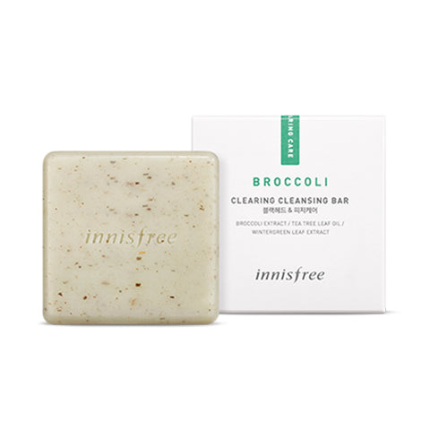 INNISFREE  Broccoli Clearing Cleansing Bar - 90g