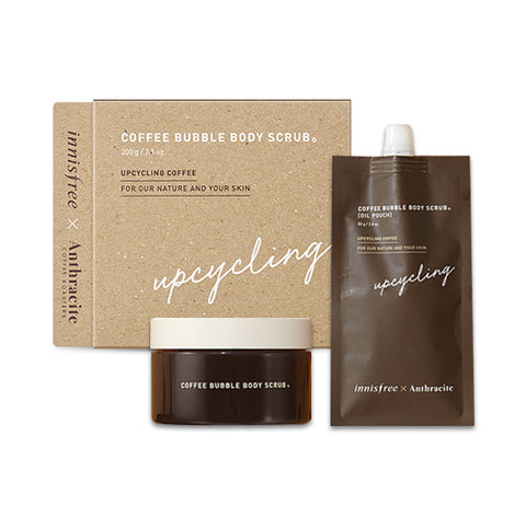 INNISFREE  Coffee Bubble Body Scrub - 1pack (2items)