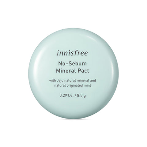 INNISFREE  No Sebum Mineral Pact - 8.5g