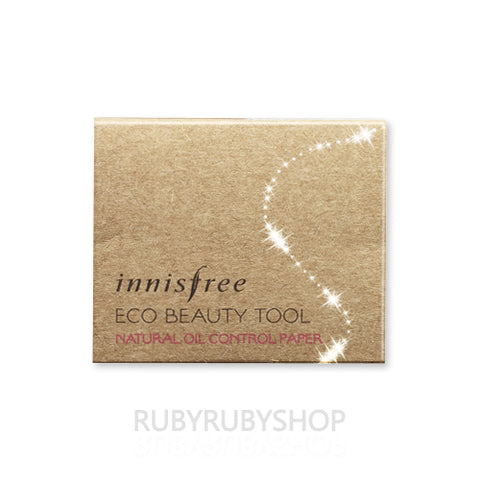 Innisfree / Eco Beauty Tool Natural Oil Control Paper - 50sheets