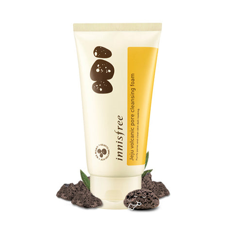 INNISFREE  Jeju Volcanic Pore Cleansing Foam - 300ml