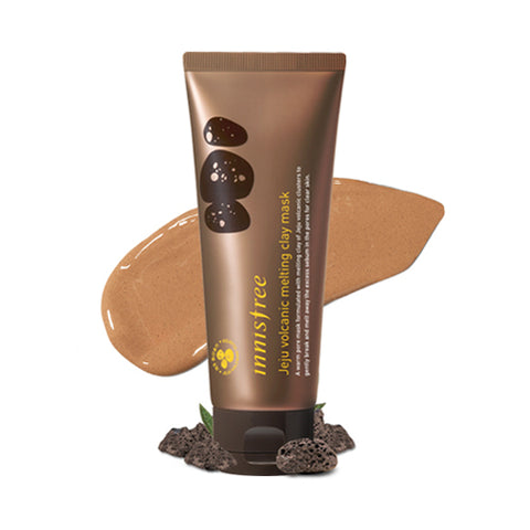 INNISFREE  Jeju Volcanic Melting Clay Mask - 100ml
