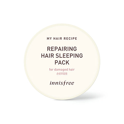 INNISFREE  My Hair Recipe Repairing Hair Sleeping Pack - 100ml No.Damaged Hair