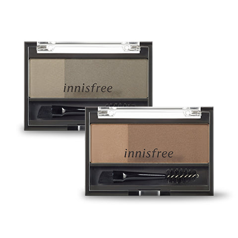 INNISFREE  Twotone Eyebrow Kit - 3.5g