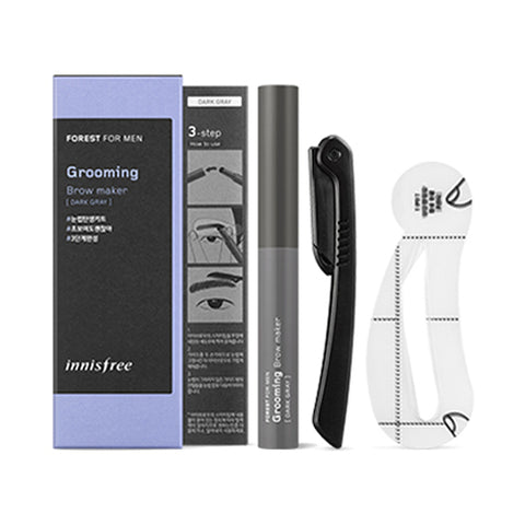 INNISFREE / Forest For Men Grooming Brow Maker - 1pack (3items)