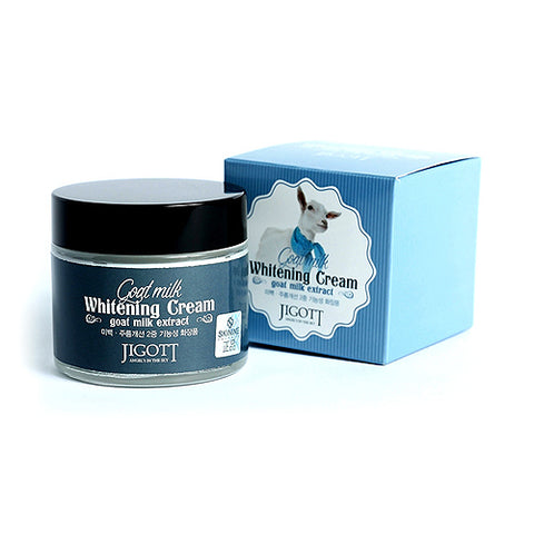 JIGOTT  Goat Milk Whitening Cream - 70ml