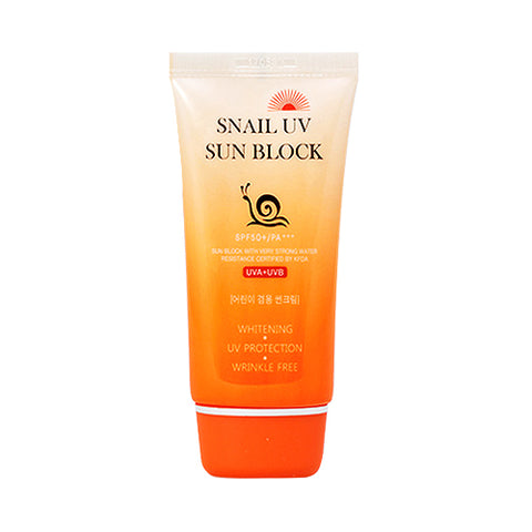 JIGOTT  Snail UV Sun Block - 70ml (SPF50+ PA+++)