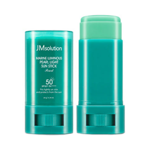 JMsolution  Marine Luminous Pearl Light Sun Stick - 20g (SPF50+ PA++++)