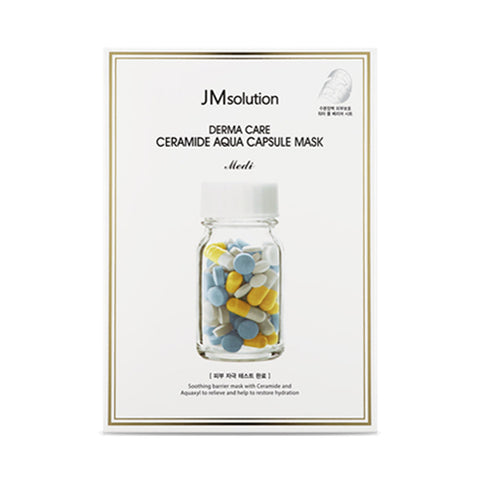 JMsolution  Derma Care Ceramide Aqua Capsule Mask Medi - 1pack (10pcs)