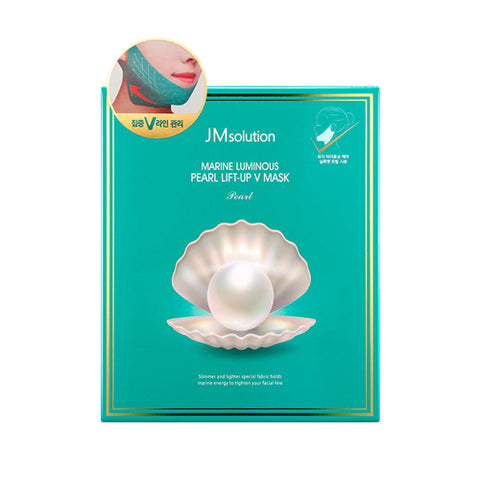 JMsolution  Marine Luminous Pearl Lift Up V Mask - 1pack (10pcs)